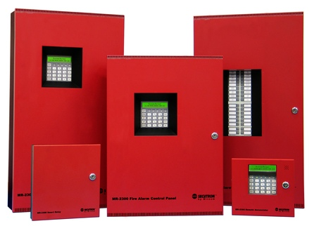 Secutron fire alarm panel
