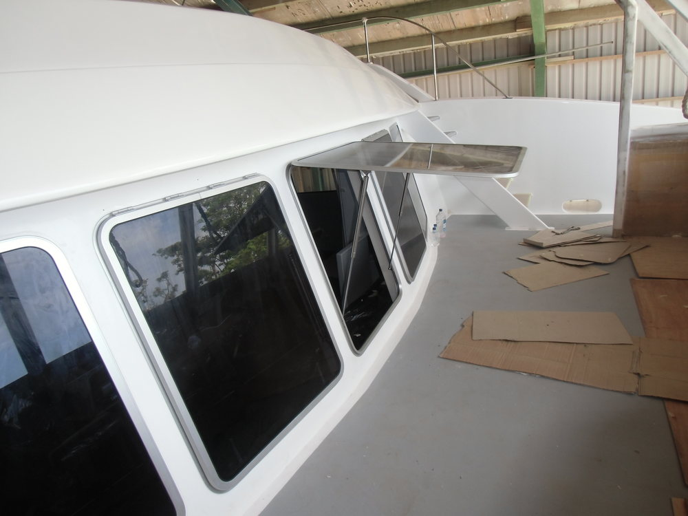 Hatch Windows Seamac Aluminium Custom Made Marine Boat
