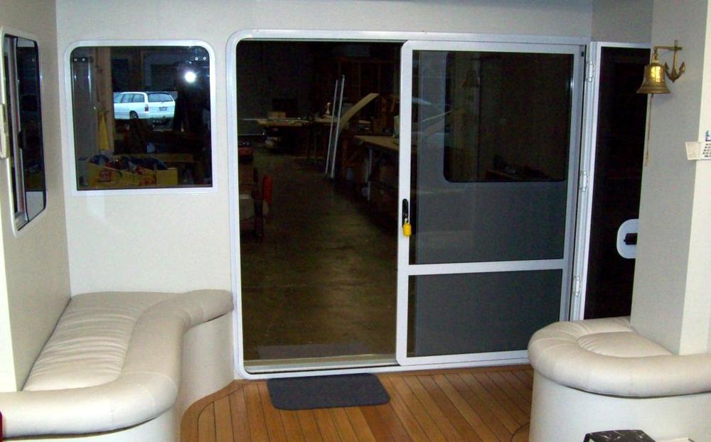 Seamac Aluminium Custom Made Marine Boat Windows And Doors