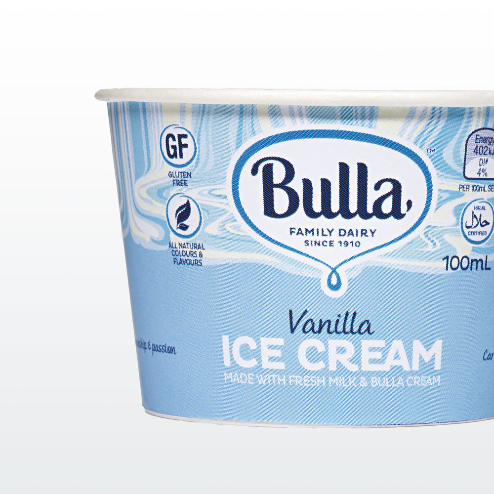 Bulla ice cream