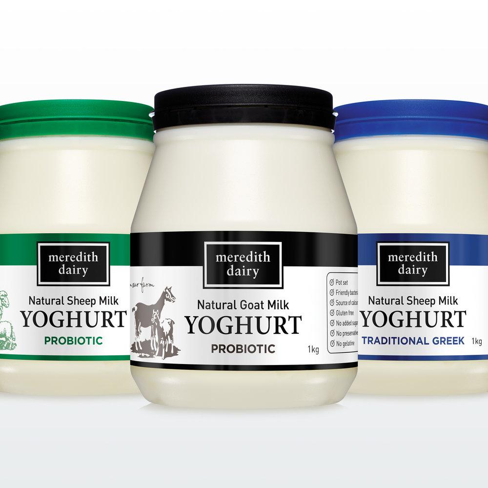 Meredith Dairy yoghurt
