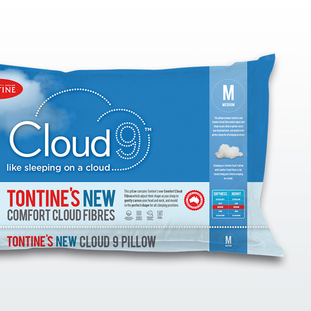 Tontine Cloud 9 packaging