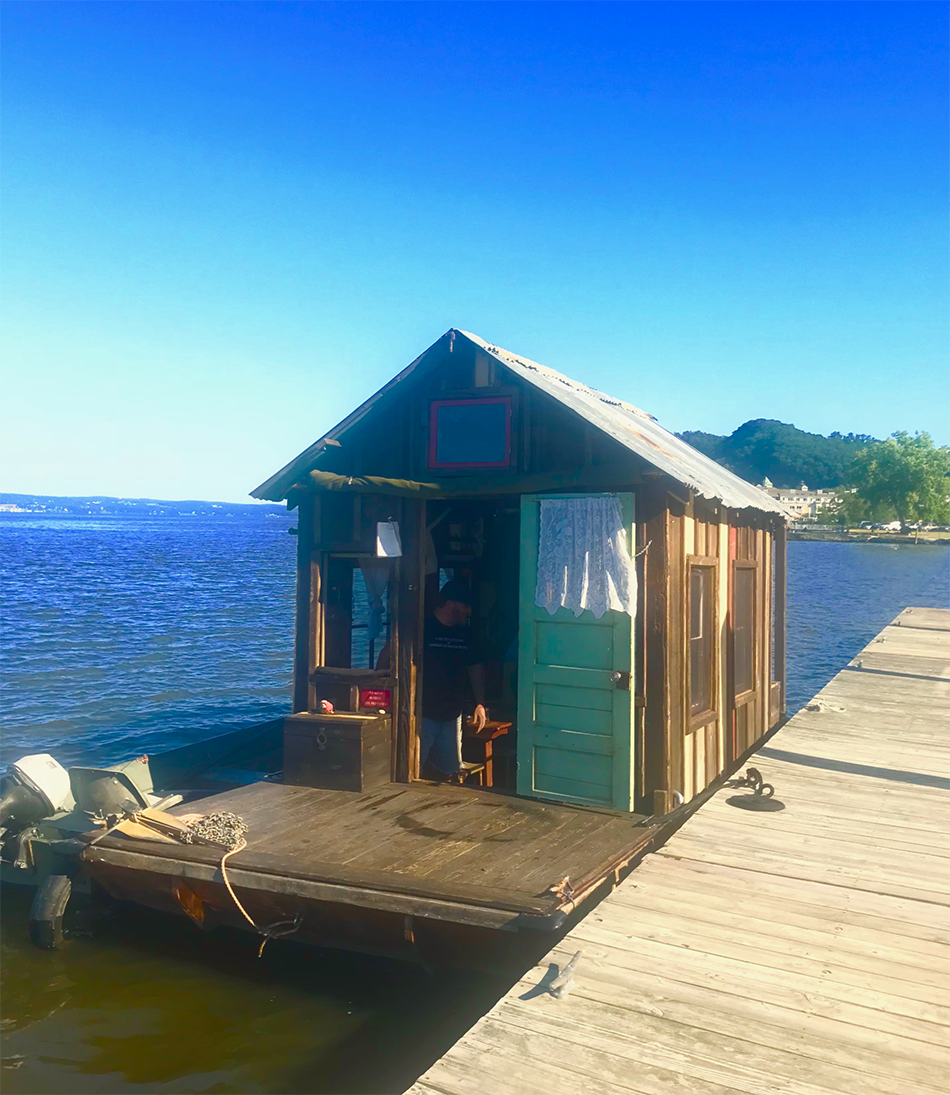 Shanty Boat - Wes Modes visits Haverstraw NY