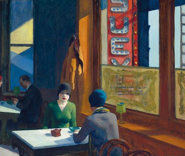 In the last 5 years, only two other oil paintings by #EdwardHopper have sold at auction; a third, Two Puritans (1945), failed to find a buyer when it came to auction at @christiesinc in 2015 with a $20–$30 million estimate. Now painting #CHOPSUEY is on the block and it could fetch over $100M. We especially love Hopper because he was born in #UpperNyack right here in #RocklandCounty, NY. #hudsonvalleyart #HudsonValleyArtist #hudsonriver #visitrocklandcounty #rocklandcountytourism #explorerockland