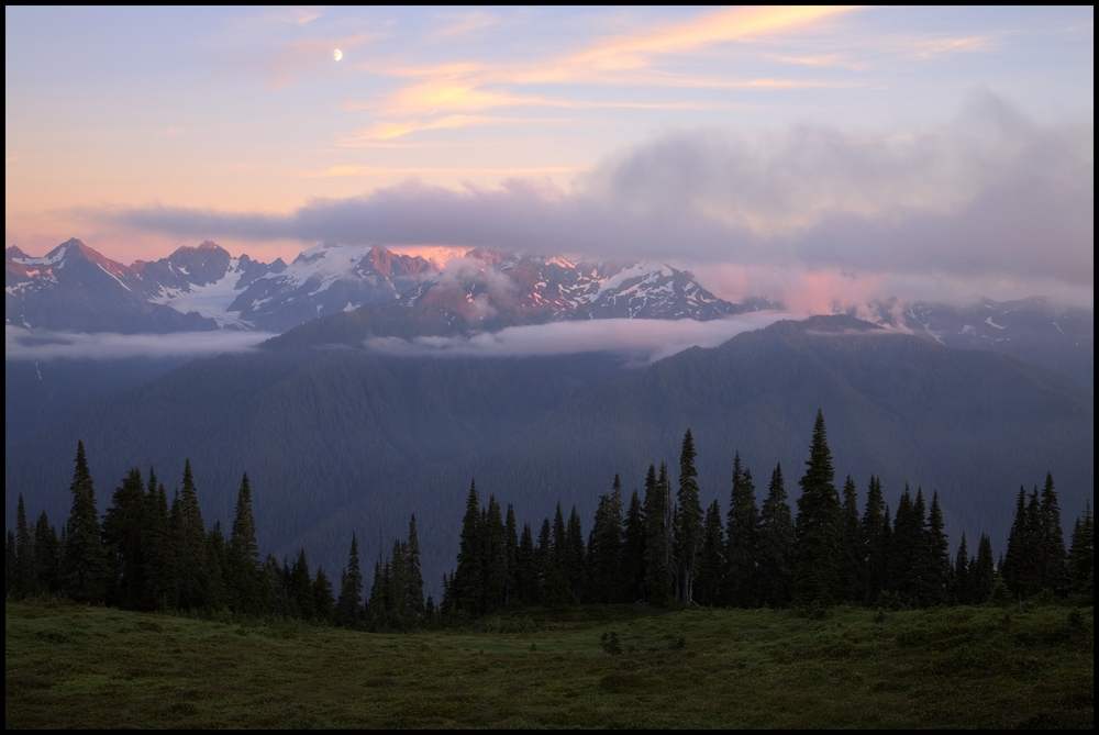 Mt. Olympus, Olympic National Park, WA