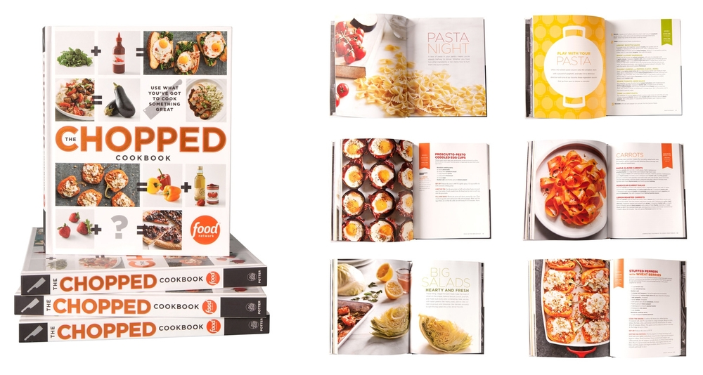 Books alanna siviero creative director food network chopped cookbook forumfinder Image collections