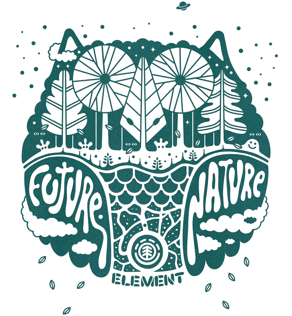 EDEN  Element Skateboards artist series, fall 09.