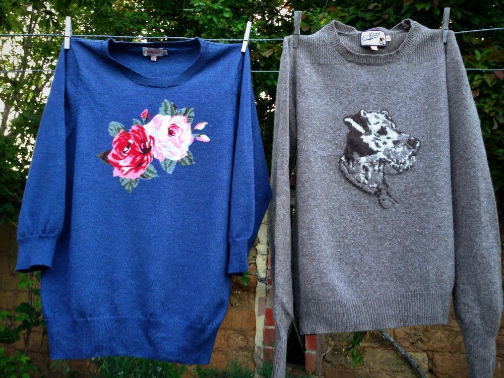 Cath Kidston   does 'barking' mad knitwear so well, love it!