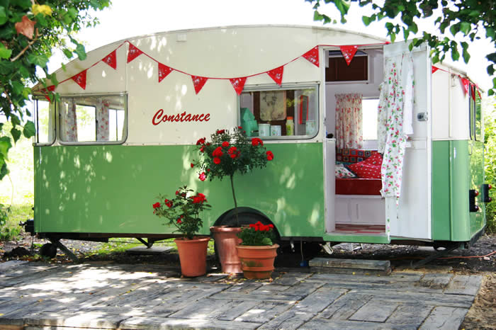 This is Constance. Isn't she wonderful? She's available to hire (!!) - if you live in the UK - from  SnailTrail   This lovely pic of Constance is from their website.