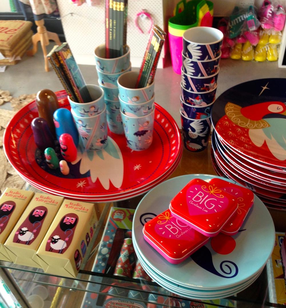 Beautiful ideas for a fun Xmas table