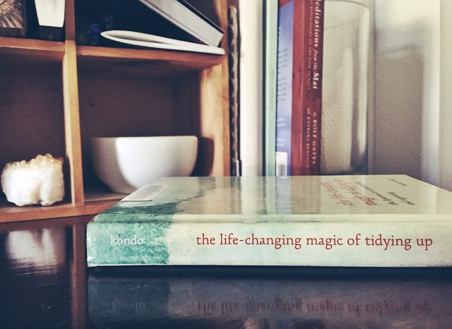 One book to rule them all. Photo credit: Bec Shann at thinkbiglivesimply.com