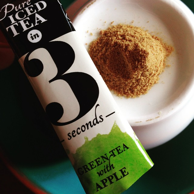 This clever little sachet of green tea in 3 really delivers!