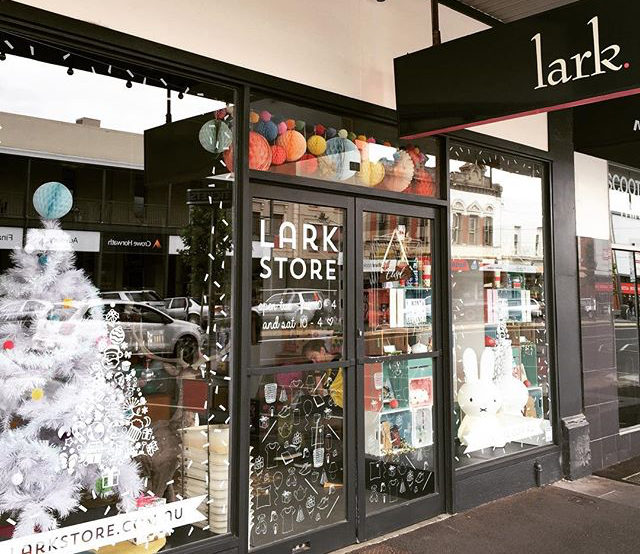 The lovely Lark store in Ballarat! Do pop in and visit some time... it's a bit totally gorgeous! x Pic sourced from @Larkstore on Instagram... Go and join their 37.5K other wonderful followers here.