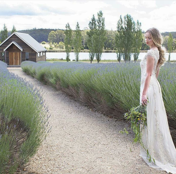 More loveliness from Gwendolynne... make sure you  click through  to her Instagram feed... SUCH beautiful dresses!