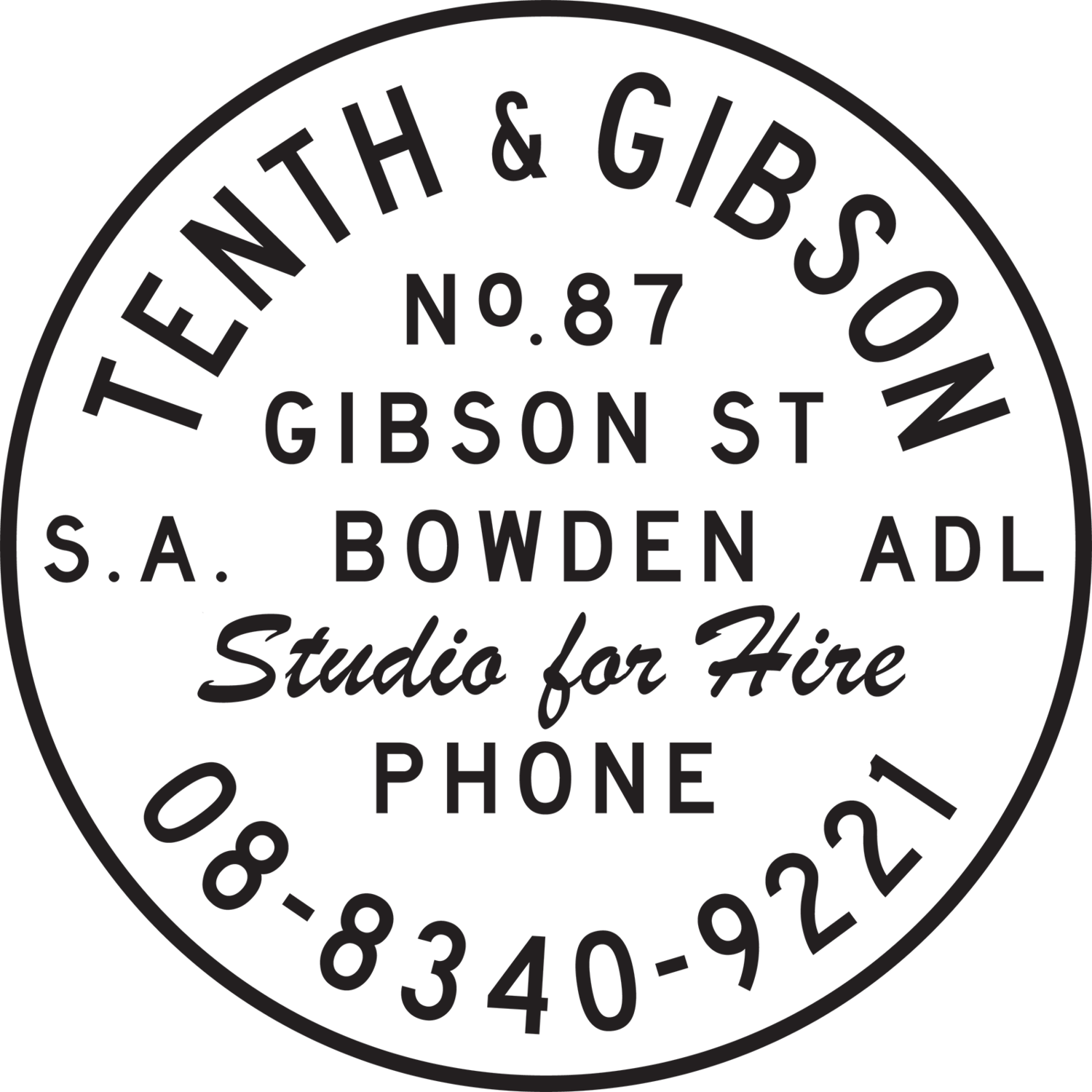 Tenth & Gibson - Studio for hire