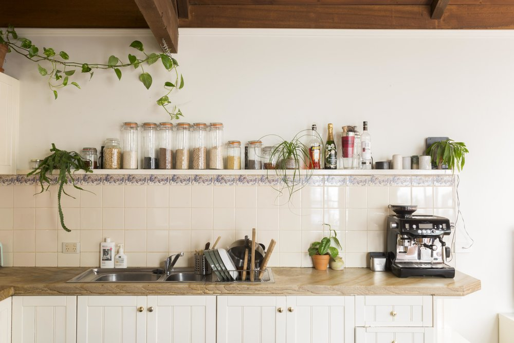 Tilly Barber and Yuksel Yucetepe's kitchen - Rented Space