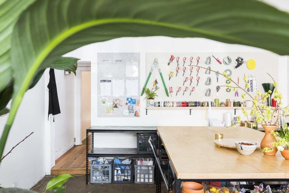 Vivien Hollingsworth and David Suter of Flos Botanical Studio in Abbotsford, Melbourne