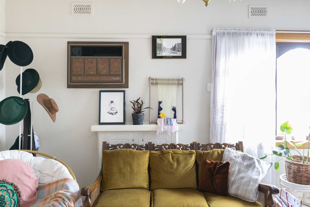 Inside the rented home of Kate Brouwer and Jace Yendall. Photo by Dan Soderstrom for Rented Space.