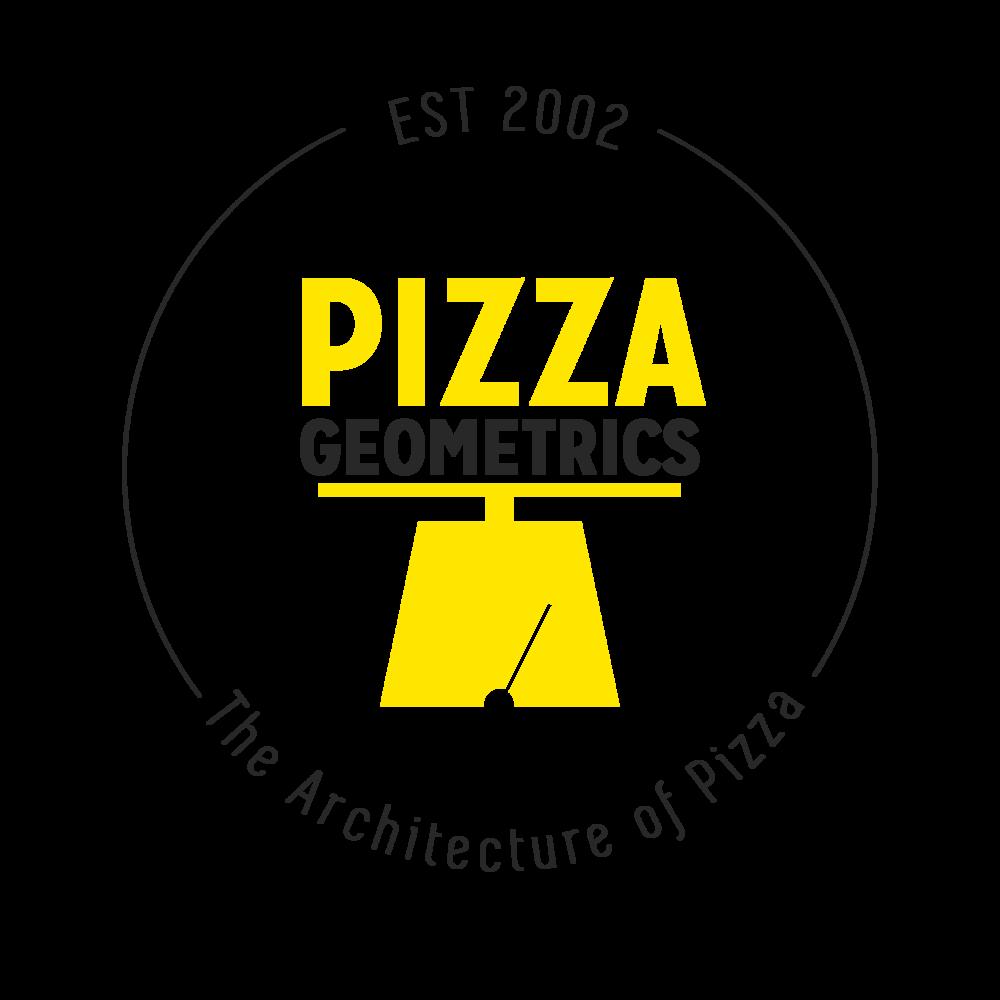 Pizza Geometrics round logo