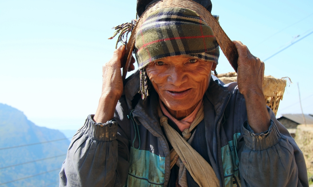 The beautiful people of Nepal.