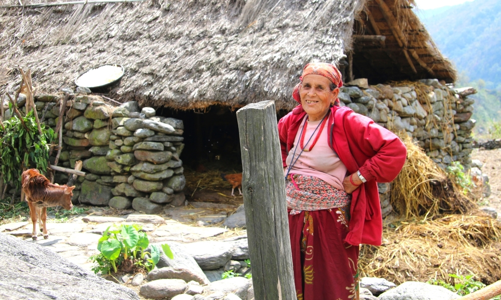 Gurung: indigenous people of Nepal's mountain valleys.
