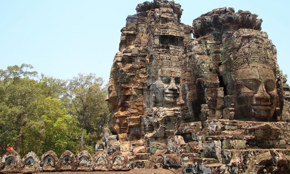 Bayon, Angkor, Cambodia.