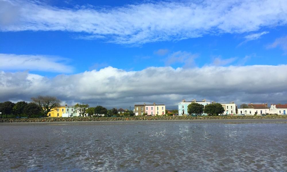 Wandering the Sandymount Strand, Ireland.