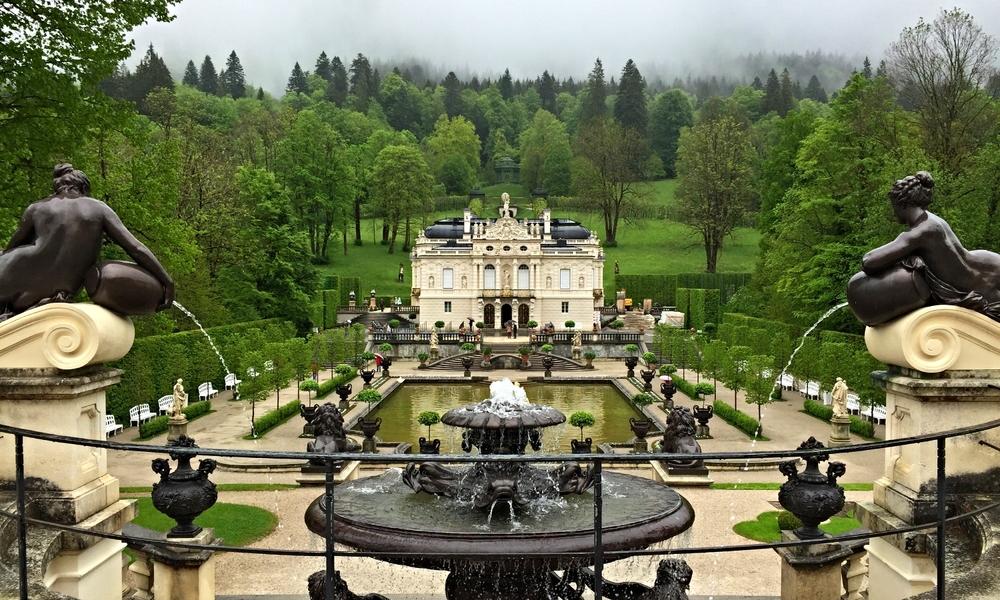 Linderhof Palace, Ettal, Germany.