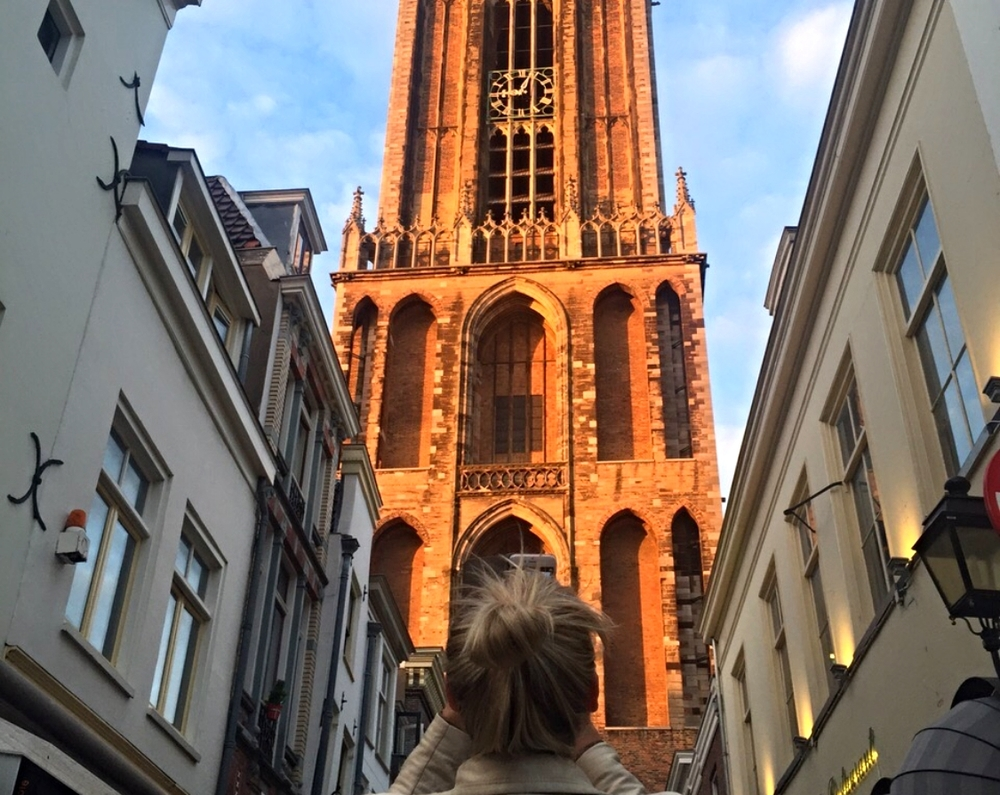 The Dom in Utrecht where the Tour de France started this year.