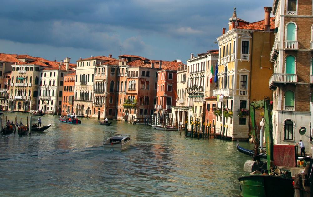 Like a painting. Venice.
