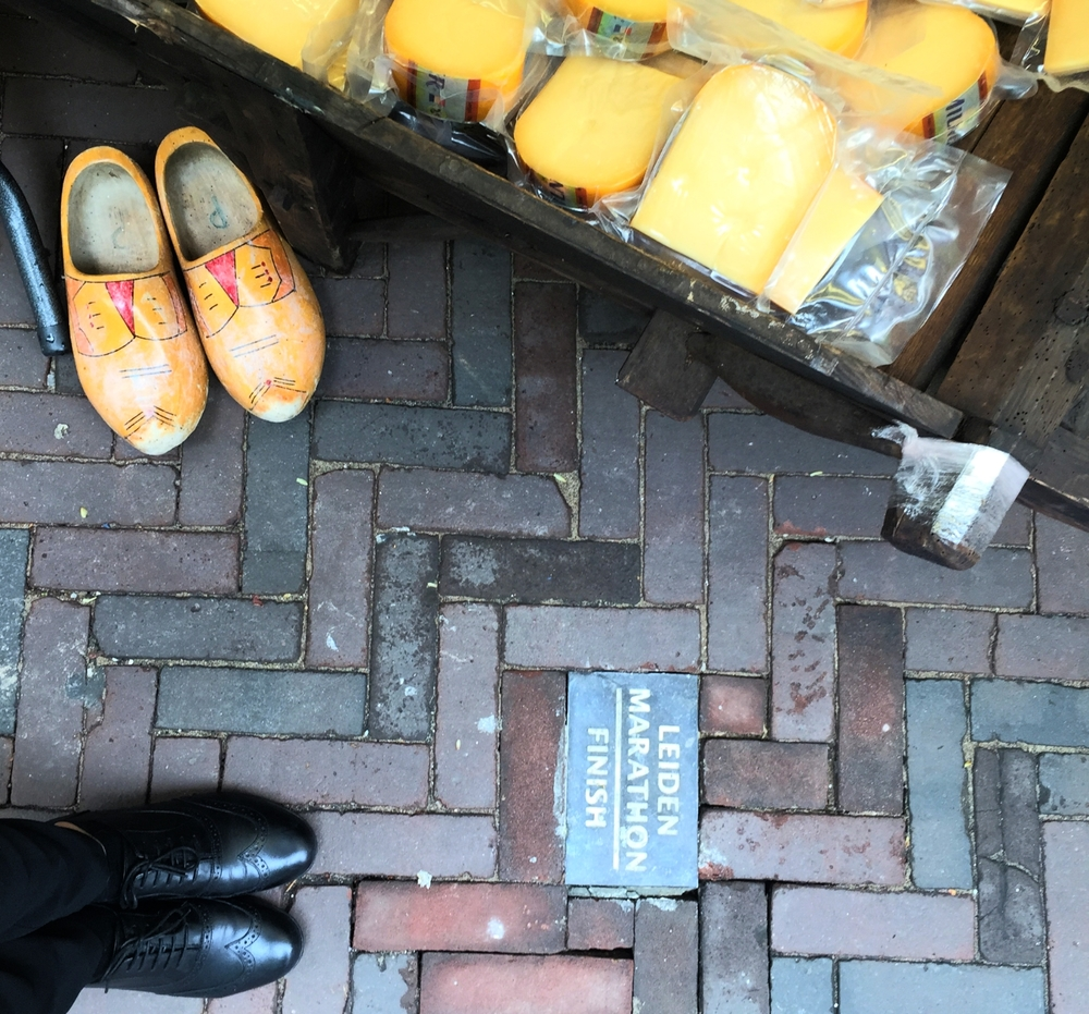 Cobbled streets, clogs and cheese. I have arrived!