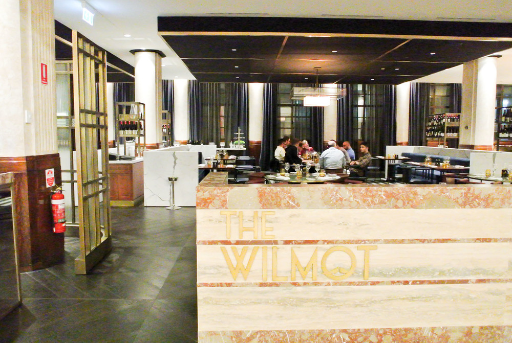 The Wilmot restaurant at the Primus Hotel.