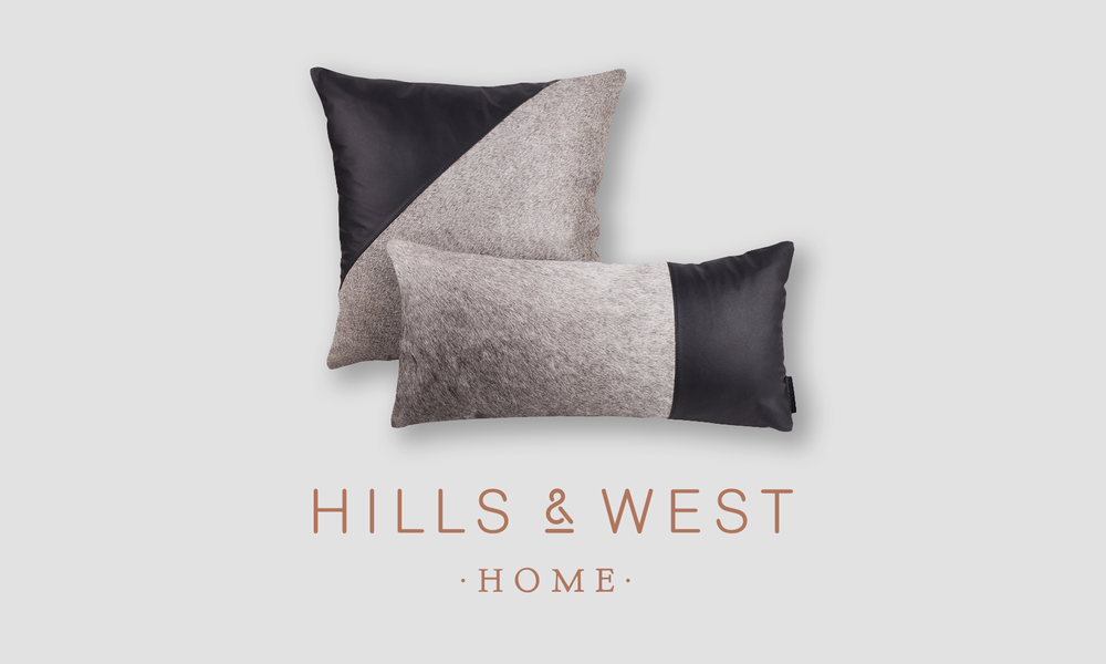 Cowhide Luxe Pillows - Available now as a matched pair.