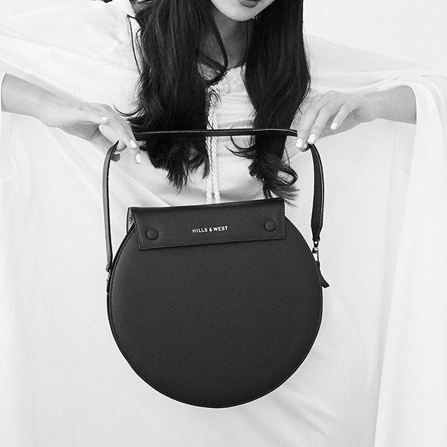 Our Lunar Max in eclipse black. . . #handbag #Australianmade #Leatherbag  #Luxurybag #Bag #Handmade #Qualitybag #Buylocal #lunarbag #circlebag #blackandwhitephotography