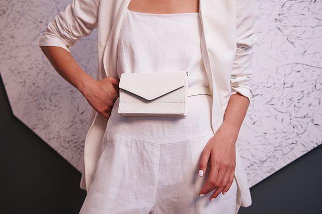 Lenny / Beltbag / Whiteout . . . #beltbag #bag #Australianmade #ootd #whitbag #bumbag #leatherbag #instabag