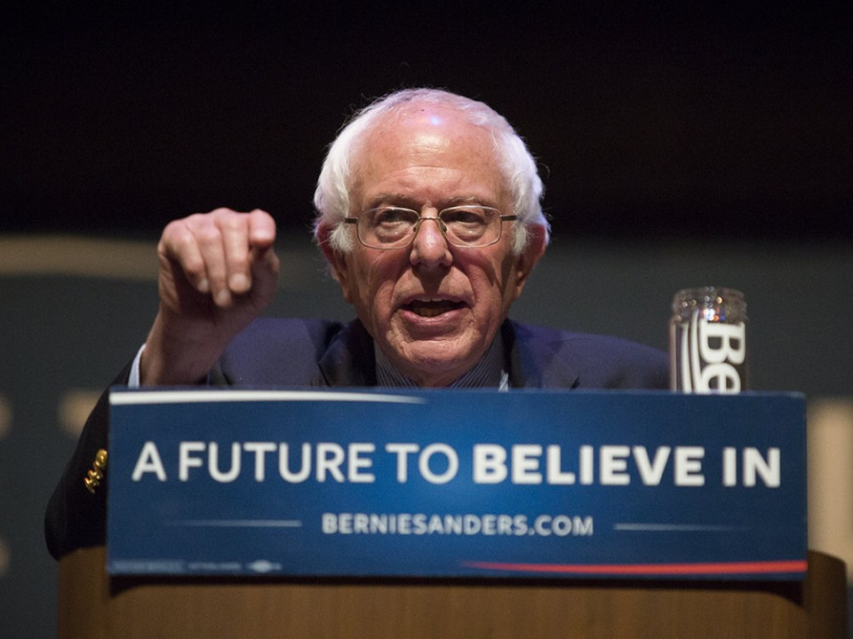 Bernie Sanders says he's starting a revolution — and his crowds truly believe him   The crowd loves Bernie Sanders.  It loves him so much people have waited two, three, even seven hours outside the Santander Performing Arts Center in Reading.