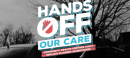 Hands Off Our Care - I designed this website to showcase the work that Planned Parenthood of America does for health care that cannot be replaced by community health centers in many places in the U.S.
