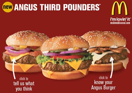 McDonald's Microsite Landing Page