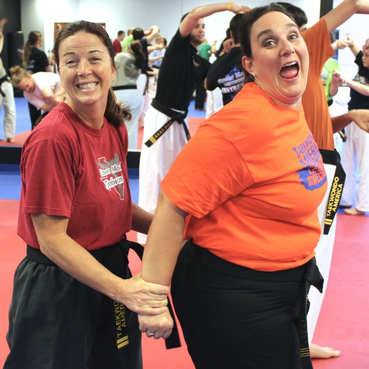 Training in martial arts and self-defense is also lots of fun. You will make great, lasting friendships.
