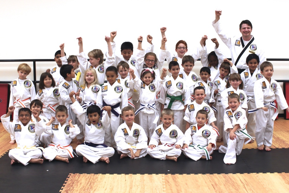 Our youngest karate students are the future leaders in Greensboro, NC.