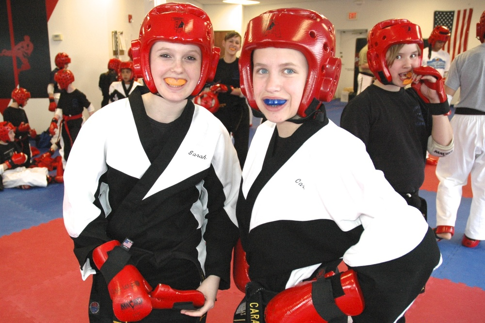 Our martial arts students develop lasting friendships.