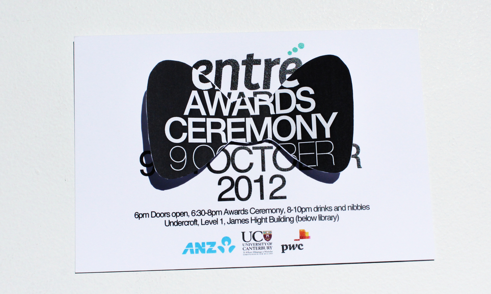 Entre Awards: Black Tieinvitation, 2012
