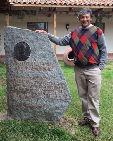 Agustín González  egresó en 1983 y hoy se desempeña como Administrador General de la Agrícola Popeta Melipilla de la Familia Morandé.