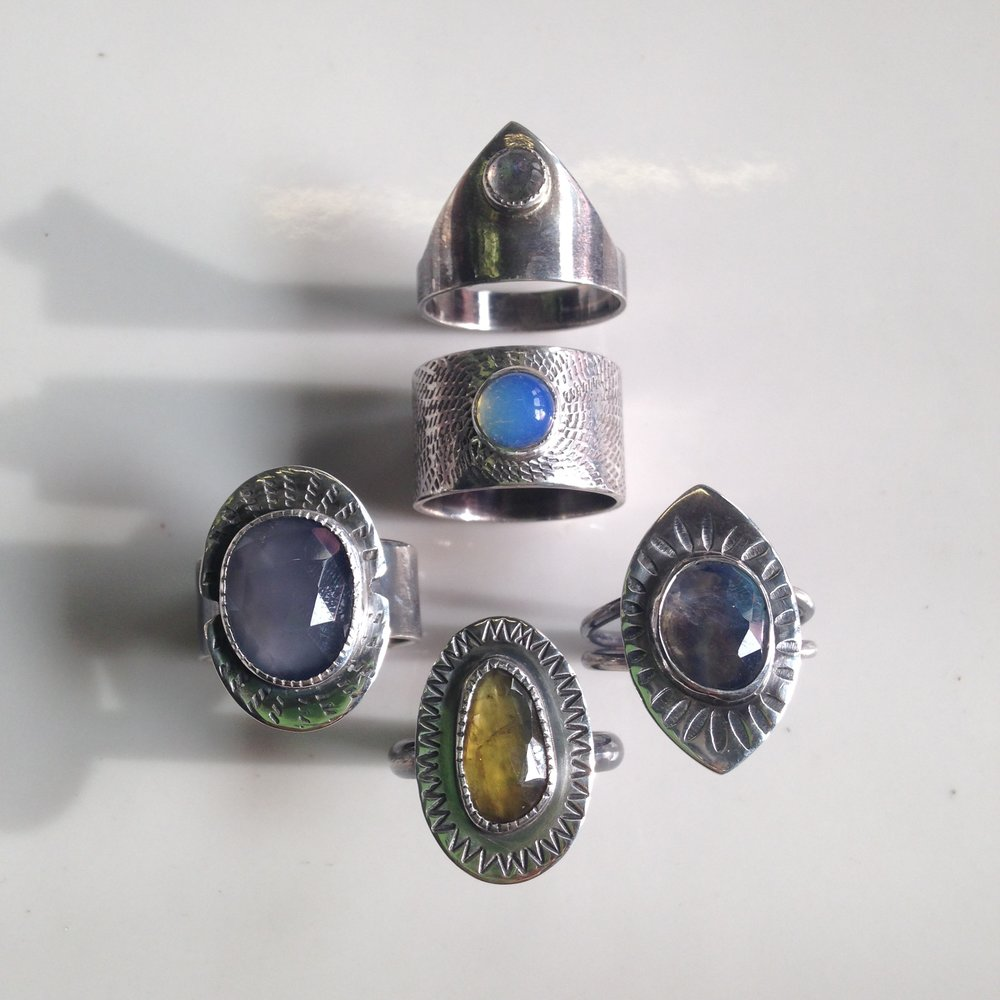 selection of early rings