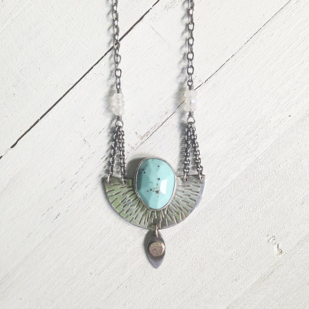 turquoise eye necklace