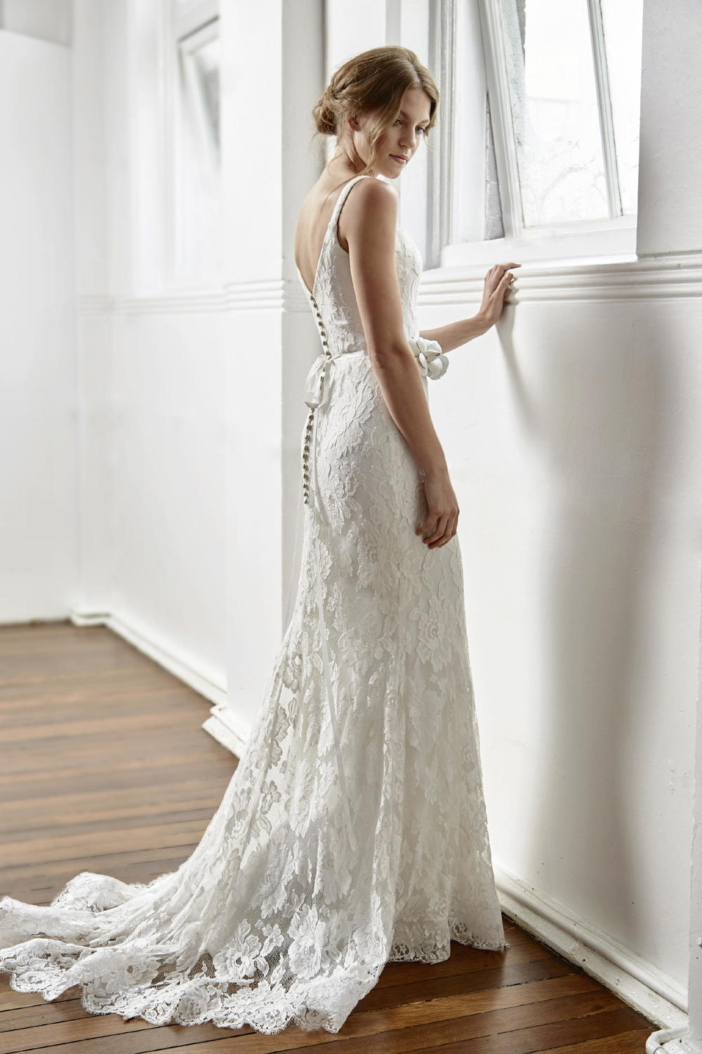 Vintage Lace Wedding Gowns Sydney : Tanya anic bridal designs real weddings s