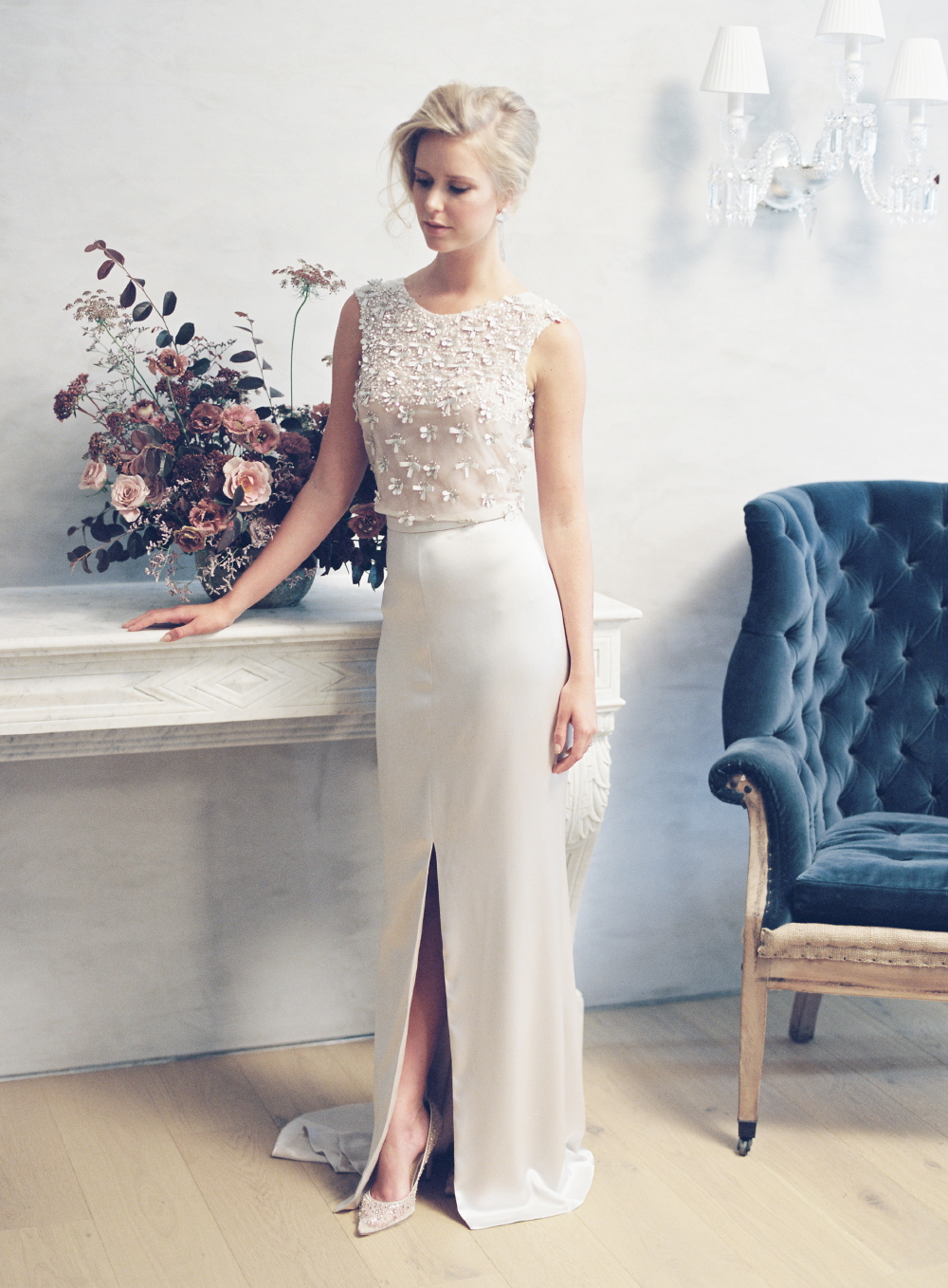 Alina bridal gown by Tanya Anic