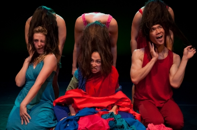 Photo/Foto: Rapt Productions, UC Berkeley TDPS;  Dancers/Intérpretes: Melanie Cutchon, Leslie Elwell, Bianca Tartaglia, Marica Petrey, Wanye Tai Lee