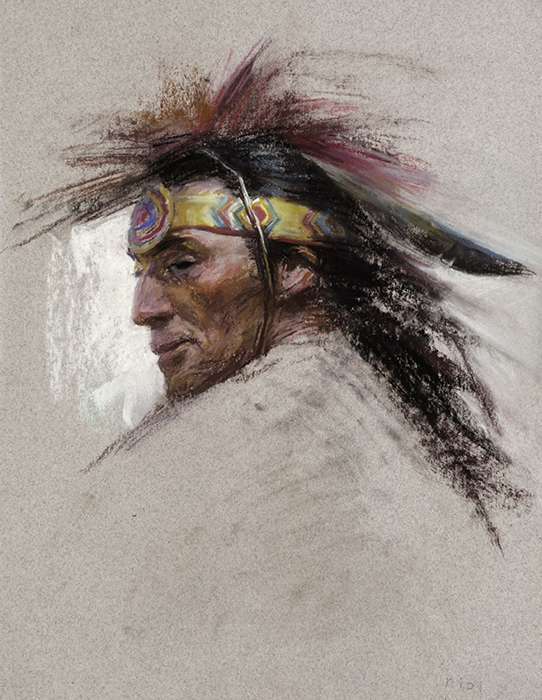 Native American Male No. 4