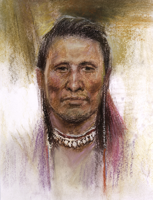 Native American Male No. 9